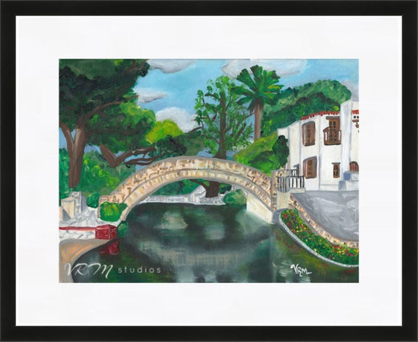 SA Riverdance, folk art print on lustre photo paper, unmatted or matted