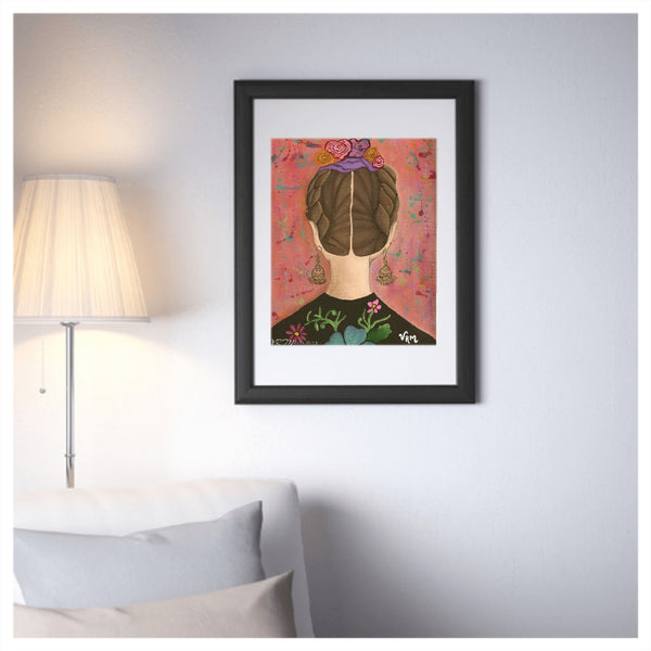 The Perennial, mexican folk art print on lustre photo paper, unmatted or matted