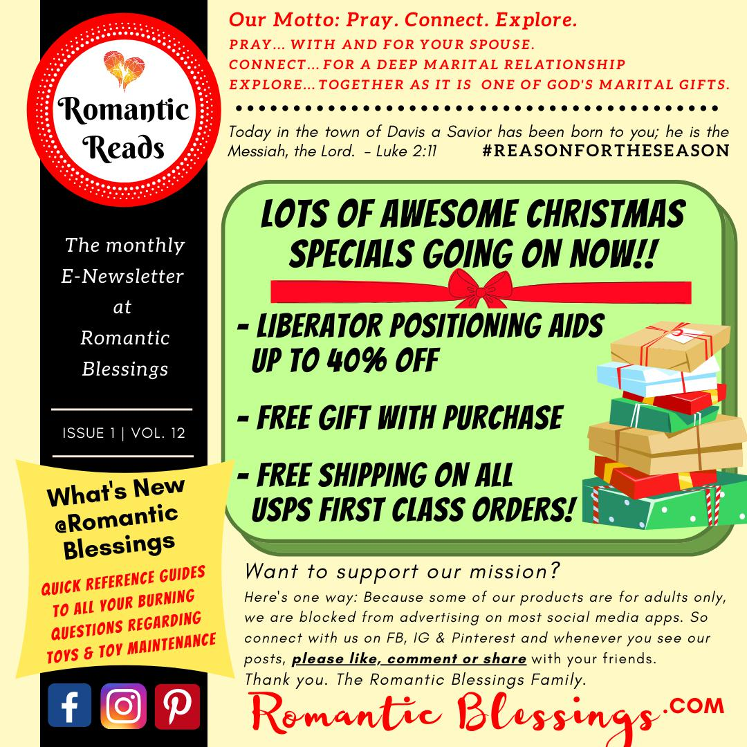 Christmas Newsletter Issue - Issue 1 | Vol 8-Romantic Blessings