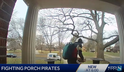 Image for 5 Disturbing Videos of Porch Pirates that Will Make You Want to Secure Your Packages this Holiday
