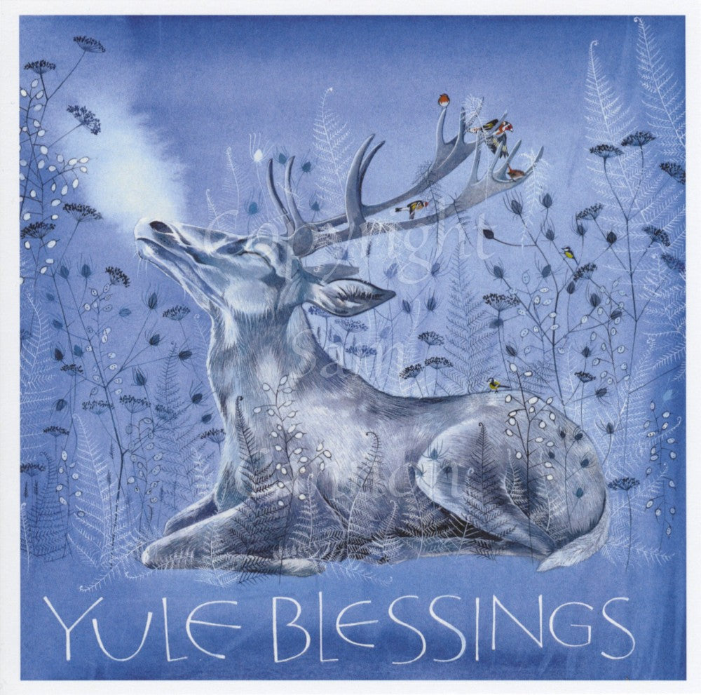 More irresistible cards from Sam Cannon, including some beautiful Yule designs