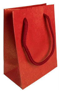 Mini Gift Bag - Red