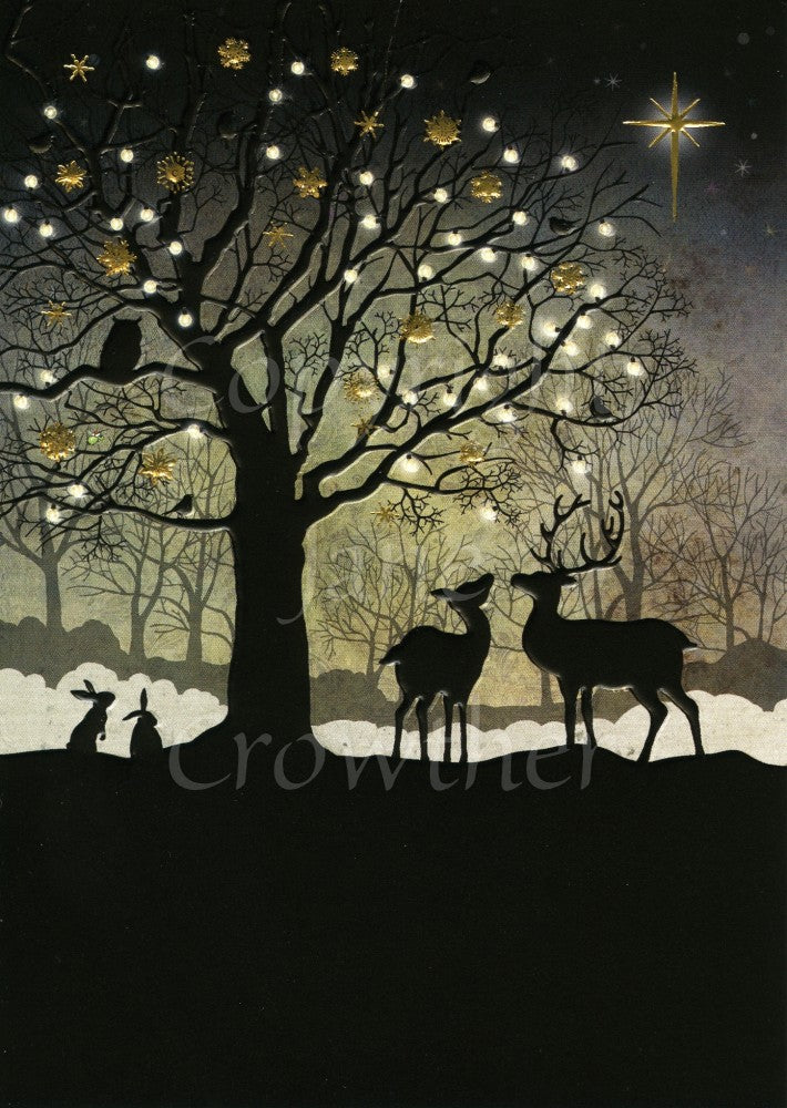 Christmas Woodland 5 Pack