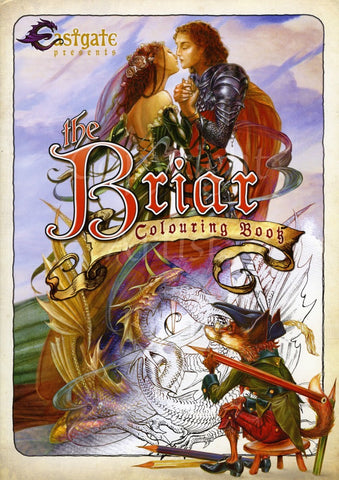 Briar Fantasy Art Colouring Book