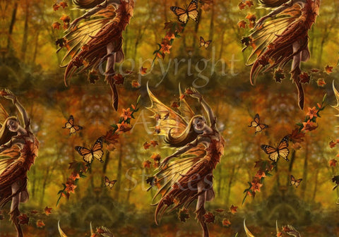 Wrapping Paper - Autumn Fairy