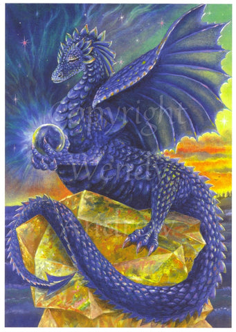 Indigo Dragon