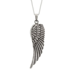 Sterling Silver Angel Wing Pendant and Chain