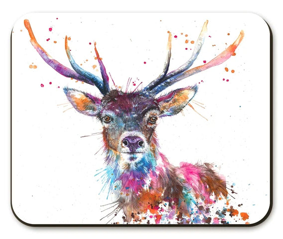 Rainbow Stag Placemat