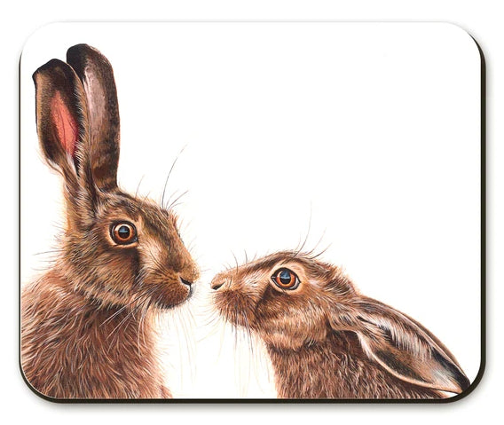 Kissing Hares Placemat