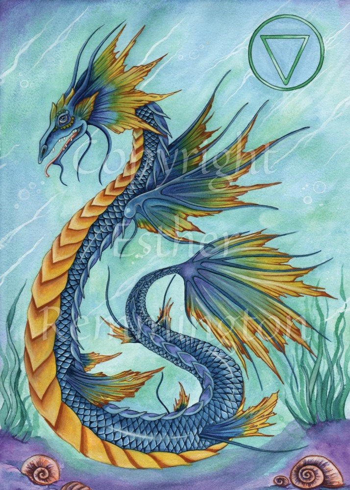 Water Dragon (Print)
