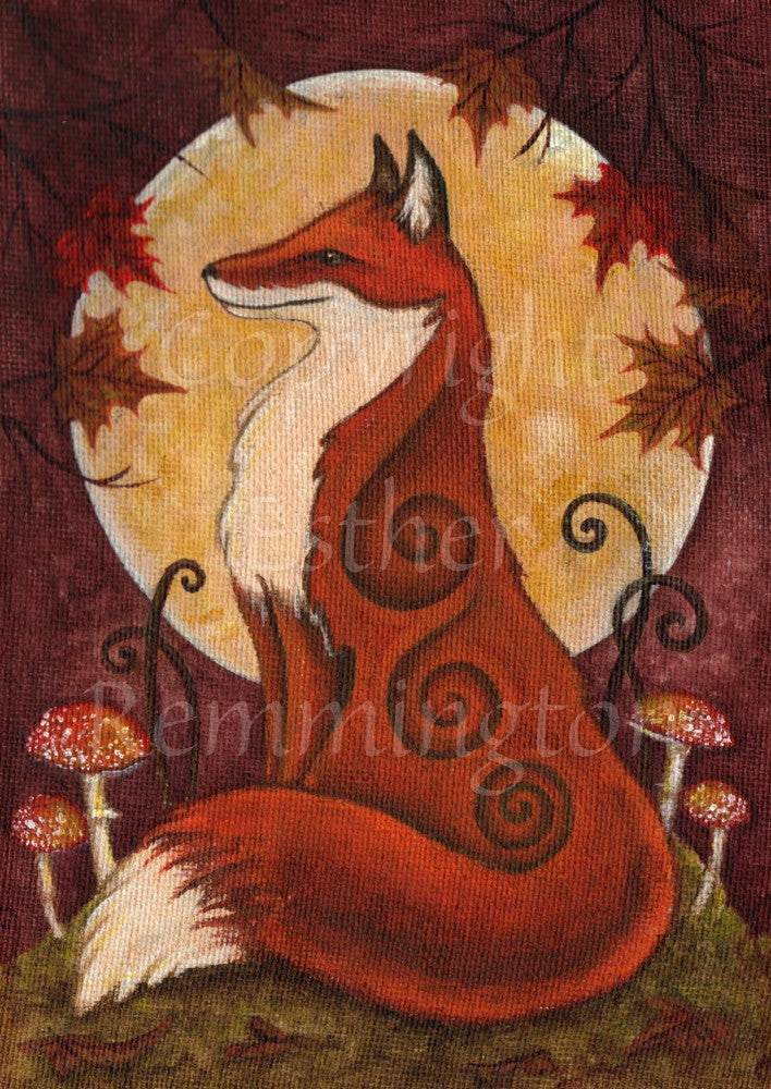 Autumn Fox (Print)