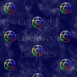 Pentacle Wrapping Paper