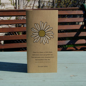 Cards with Real Seeds - Ox-eye Daisy