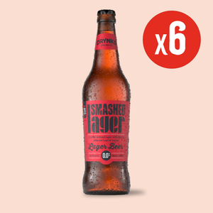 Brand New - Smashed Lager 660ml Sharing Bottles