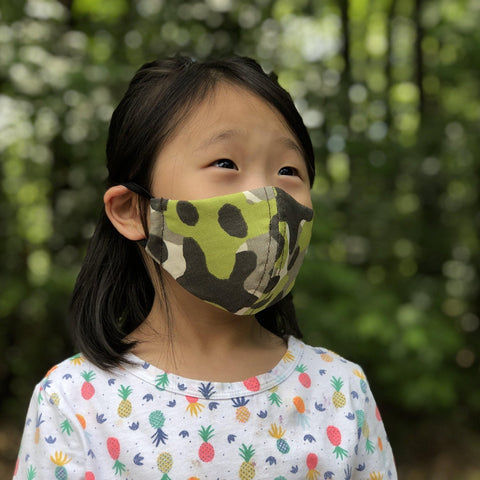 Fabric Face Mask (CAMO A)-Fabric Mask-Handcrafted Joy Boutique-Handcrafted Joy Boutique