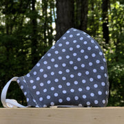Fabric Face Mask (Dots Gray)-Fabric Mask-Handcrafted Joy Boutique-Handcrafted Joy Boutique