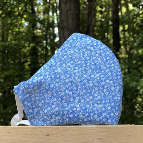 Fabric Face Mask (Flowers D)-Fabric Mask-Handcrafted Joy Boutique-Handcrafted Joy Boutique