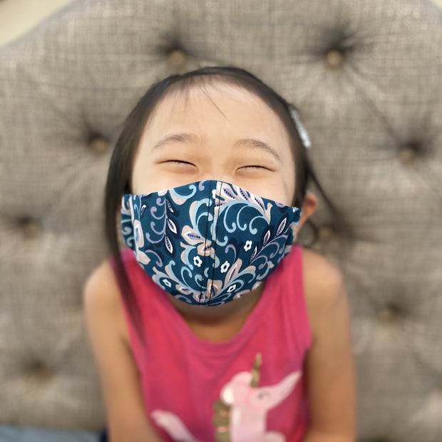 Fabric Face Mask (Flowers I)