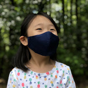 Fabric Face Mask (Navy B)-Fabric Mask-Handcrafted Joy Boutique-Handcrafted Joy Boutique