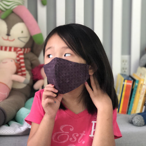Fabric Face Mask (Purple Haze)-Fabric Mask-Handcrafted Joy Boutique-Handcrafted Joy Boutique