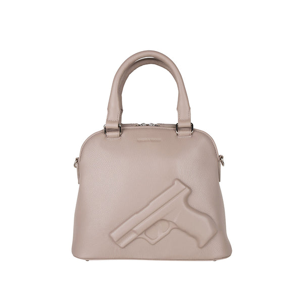 10201 Classic Small Gun Taupe front
