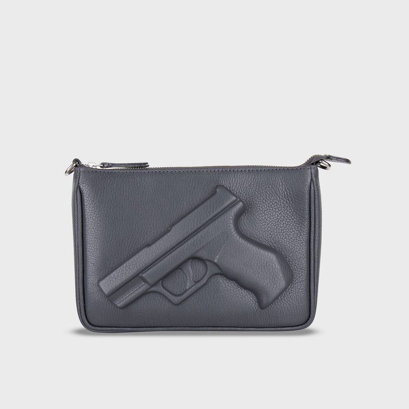 Purse Gun Dark Grey