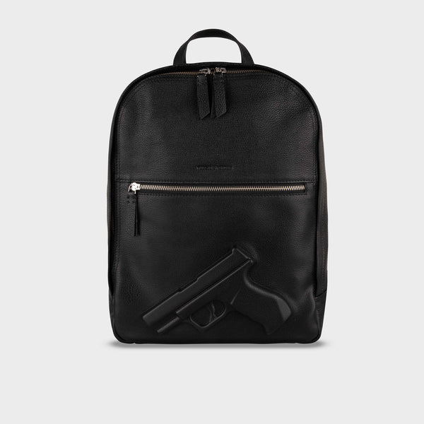 Medium Backpack Gun Black