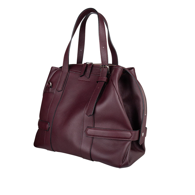 14800 Carry-all Burgundy side