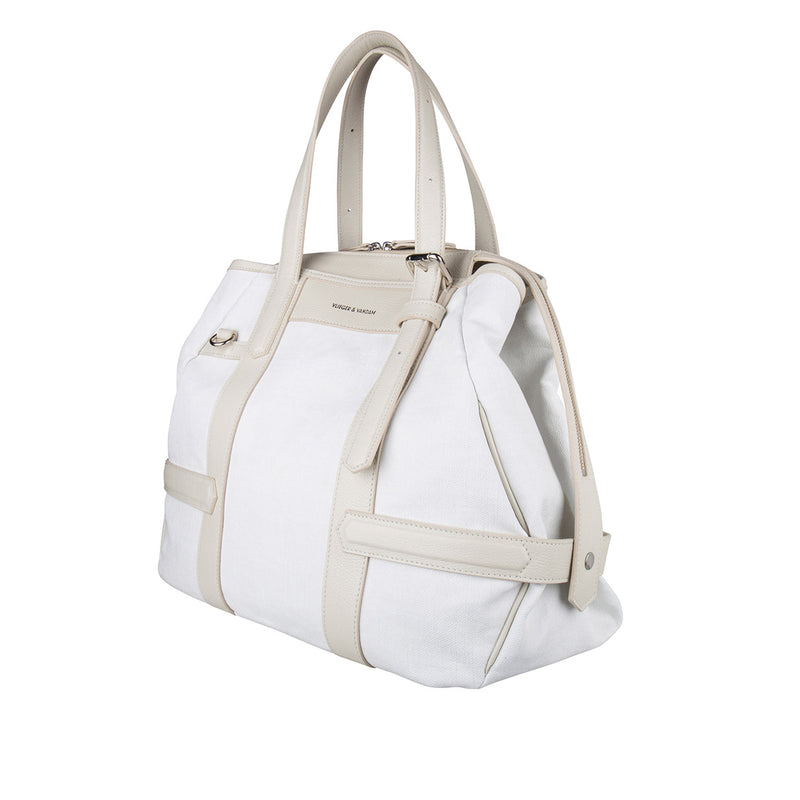 15300 Carry-all White Coated side