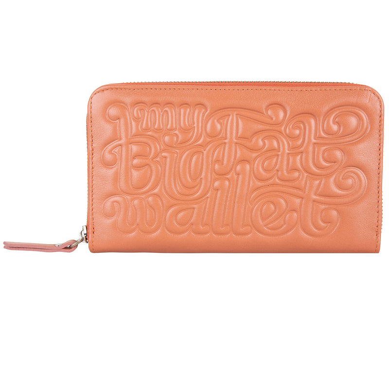 30520 My Big Fat Wallet Old Rose front