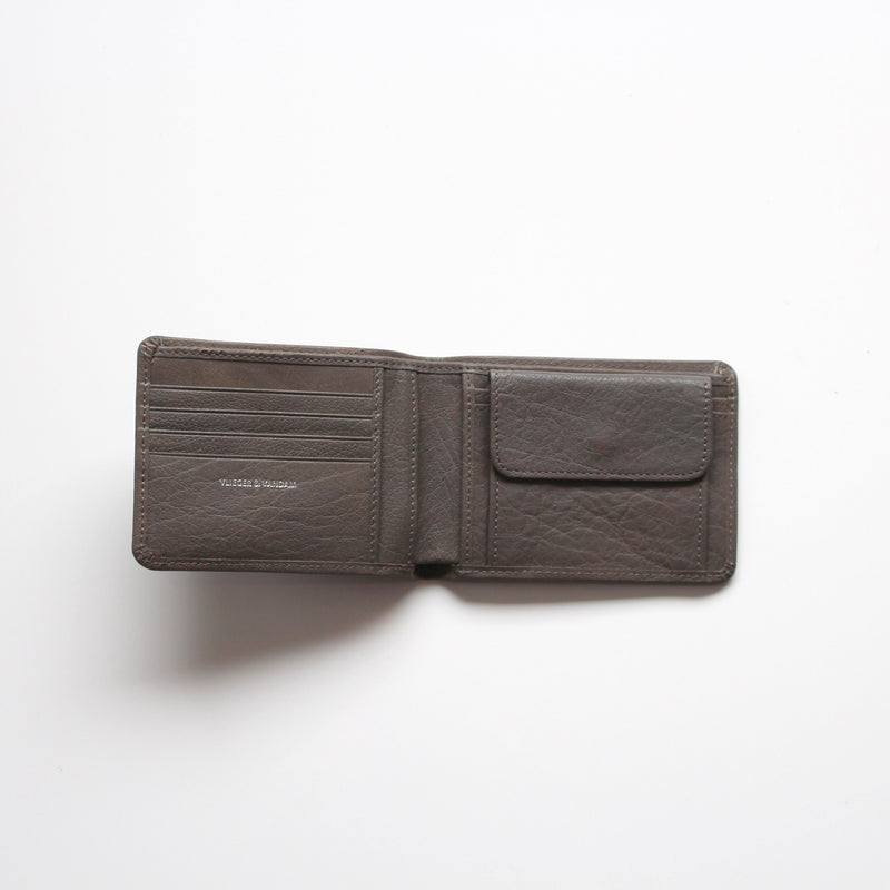 Billfold Moustache Stud Grey