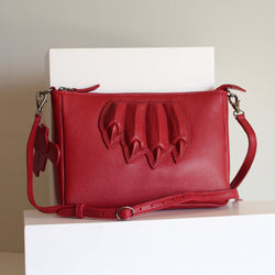 Claw Purse Red