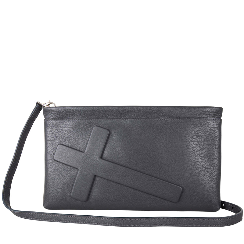Clutch Crucifix Dark Grey