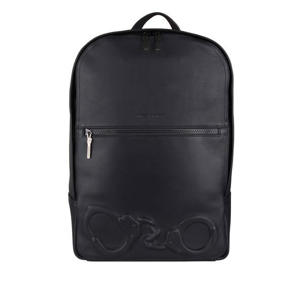 Handcuffs Backpack Black - Vlieger & Vandam