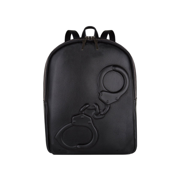 Mini Backpack Handcuffs Black
