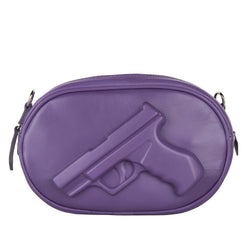 Small Oval Purse Gun Violet