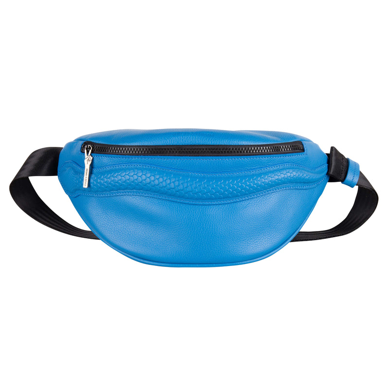 Belt Bag Snake Capri Blue