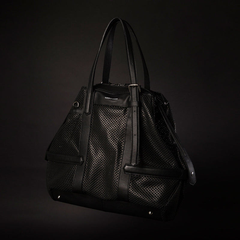 Carry-all Black Perforated