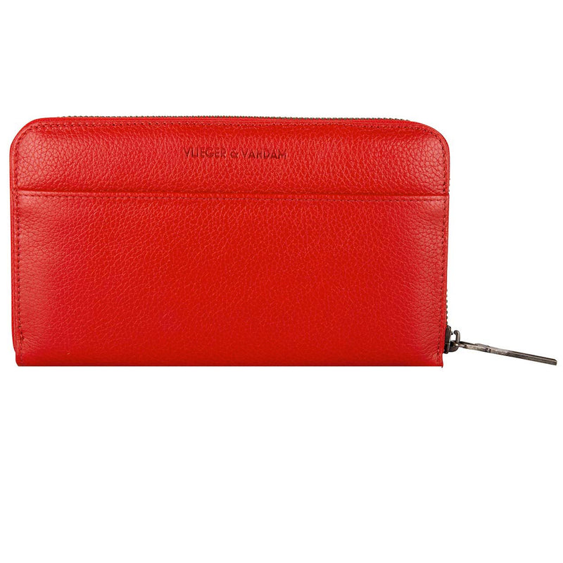 Zipped Wallet Gun Lipstick Red