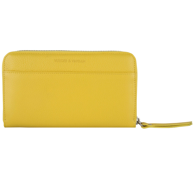 Zipped Wallet Gun Yellow