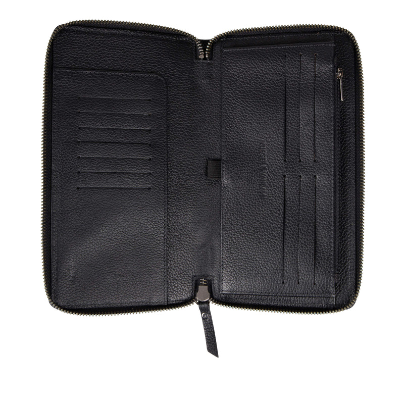 Travel Wallet Gun Black