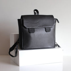 Snake Backpack Black