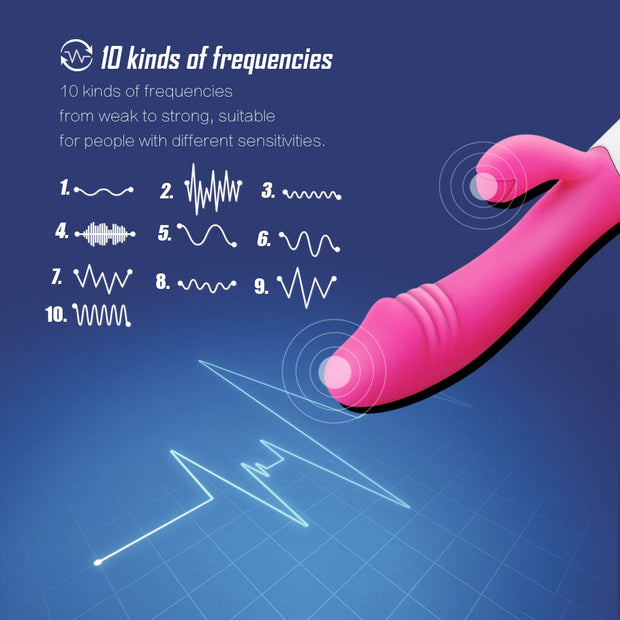 Dildo Rabbit Vibrator for Women