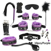 17pcs/set G spot Vibrators Adult Game Props SM Bondage Restraint Women Sex Toy Noylon Handcuffs Clit Stimulator Adult Sex Shops