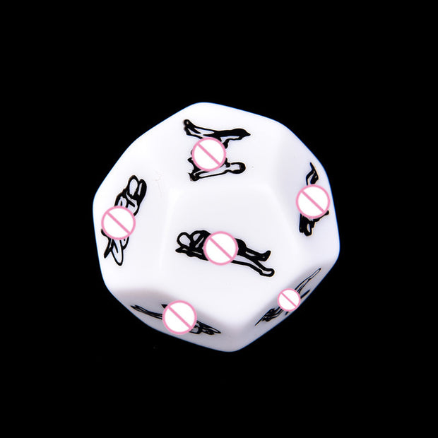 Fun Dice Romance Love Humour Adult Glow In The Dark Sexy Party Game Instructions for Couples Novelty&Gag Toys