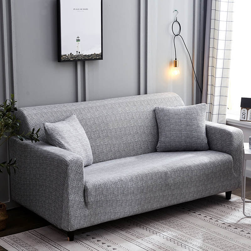 Gray Couch Slipcover Linen Sofa Slipcover By Gray Couch ...