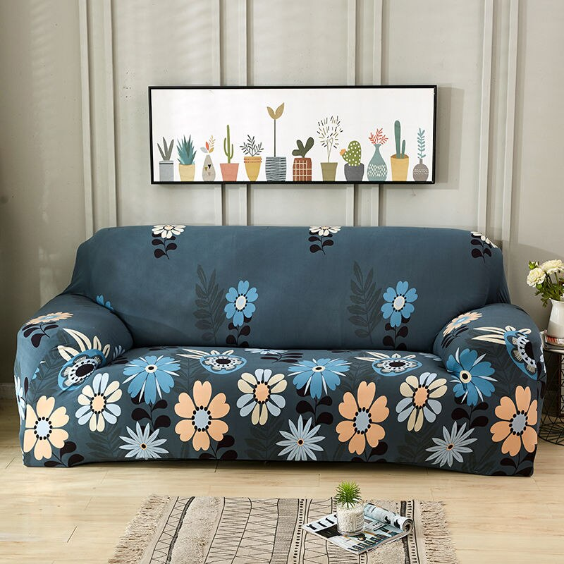 Swell Monica Floral Sofa Cover Pabps2019 Chair Design Images Pabps2019Com
