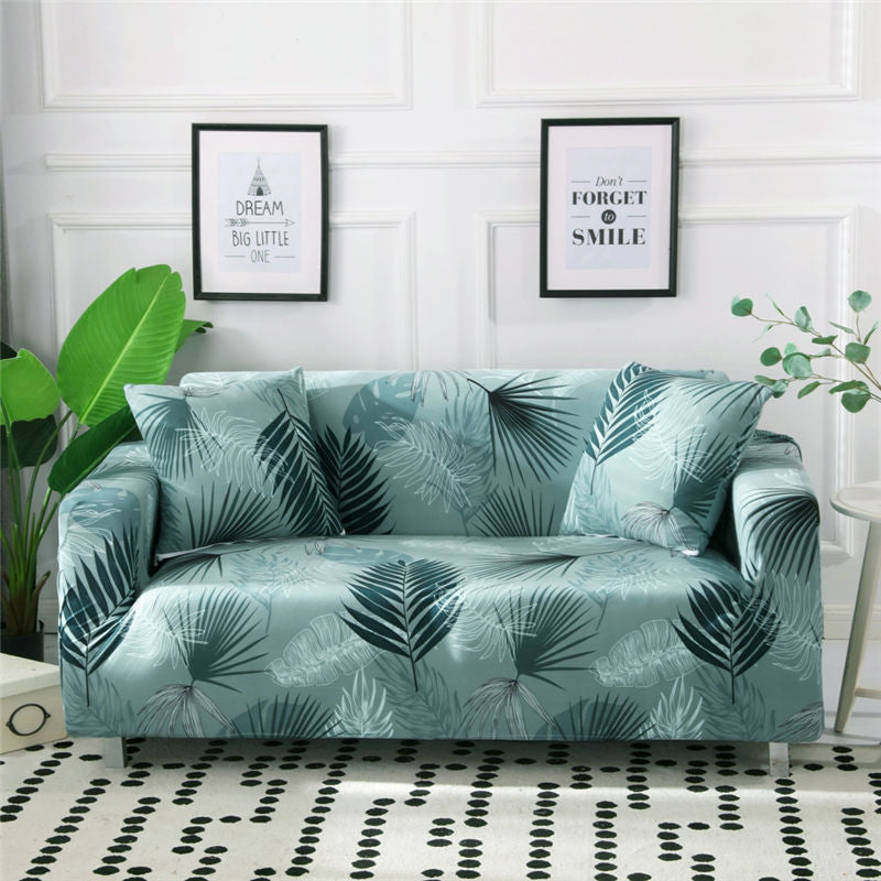 Jeric Green Sofa Cover