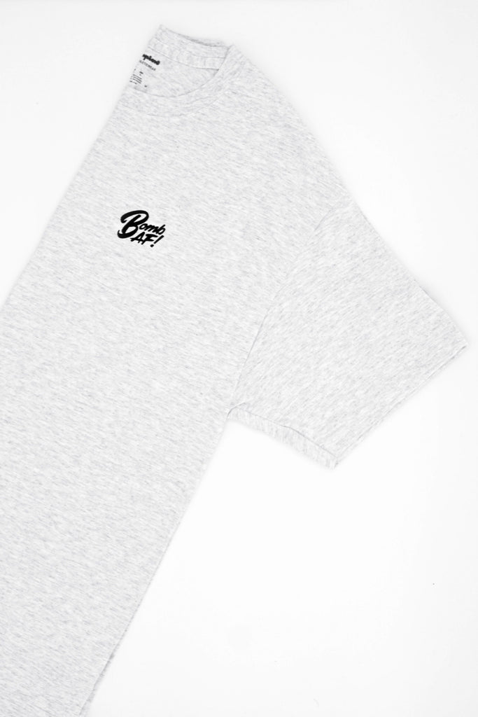Heather Grey Champion Tee