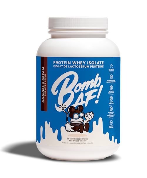 Cookies & Cream Protein Whey Isolate